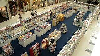 Feira do Livro no Shopping Mestre Álvaro