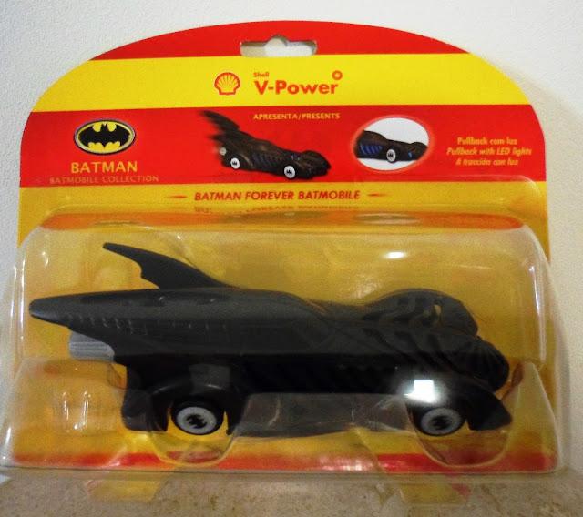 Miniaturas colecionáveis do Batmovel nos postos Shell 8