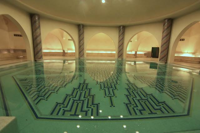 Casablanca, Marruecos, Gran Mezquita, Hassan II, blog de viajes, baño turco