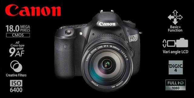 Le caratteristiche della Canon EOS 60D
