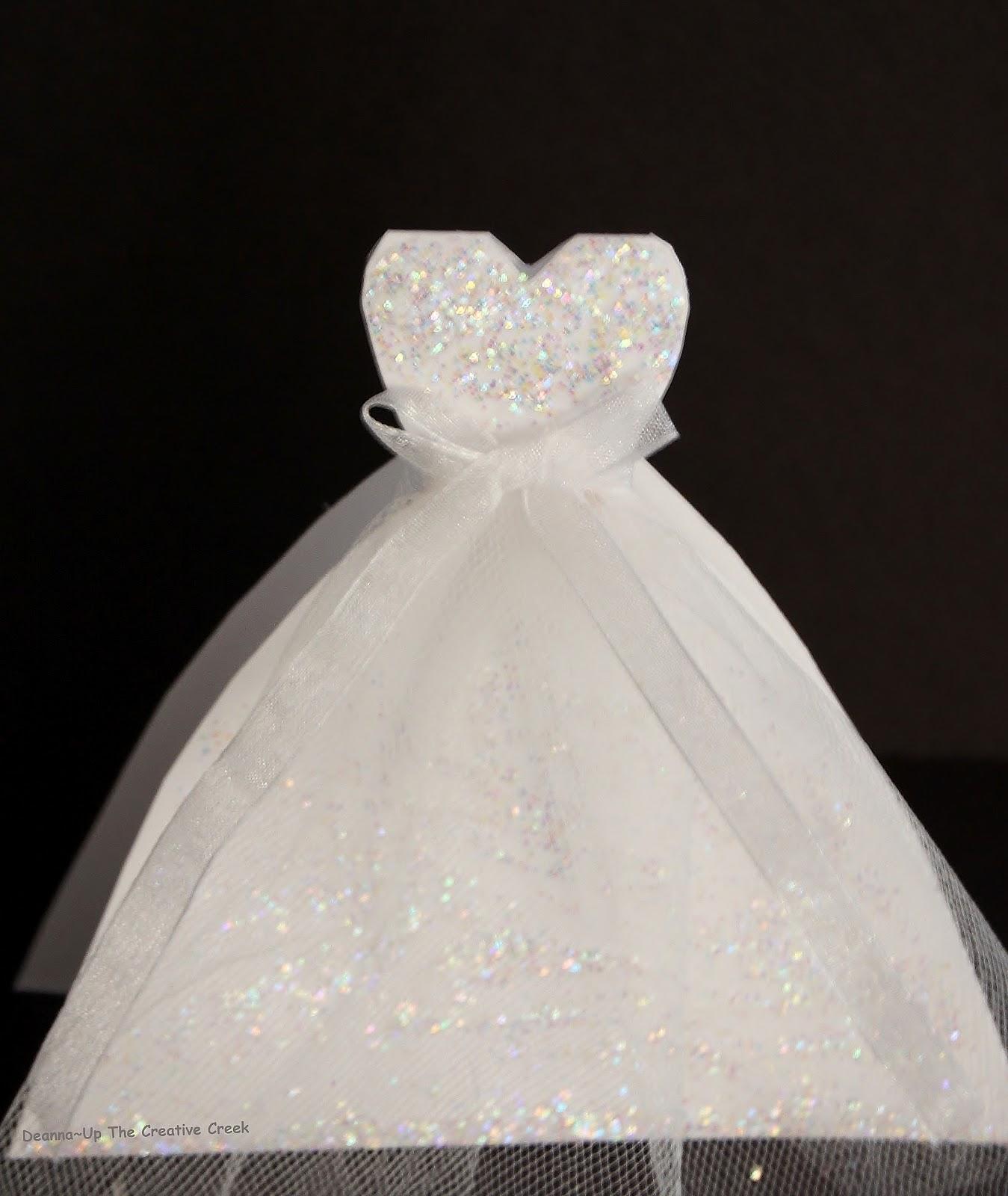 Up the Creative Creek: Wedding Dress