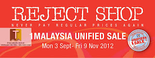Reject Shop 1Malaysia Unified Sale 2012