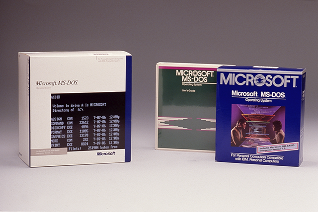 Microsoft makes source code for MS-DOS and Word for Windows available to public