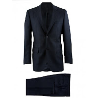 Louis Copeland Tailored Fit Formal Suit in Charcoal