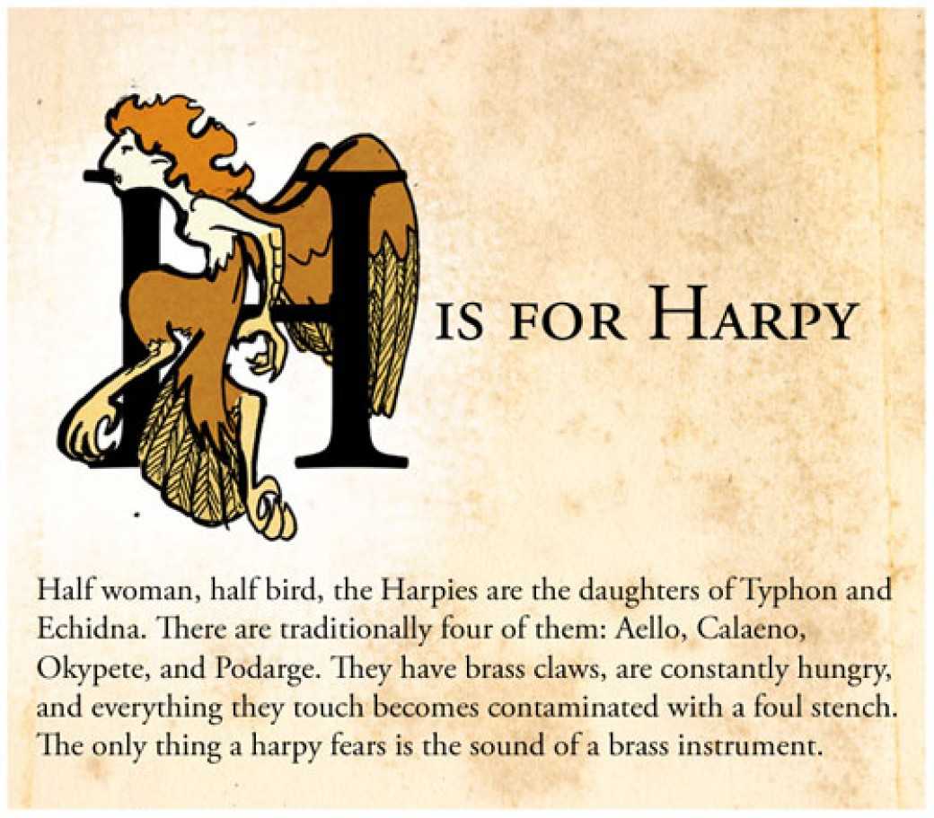 H is for Harpy por korybing