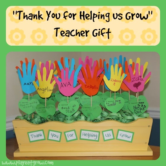 "Play Eat Grow: ""Thank You for Helping Us Grow"" Teacher Gift"