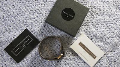 Ella Valentine Leather Bracelet