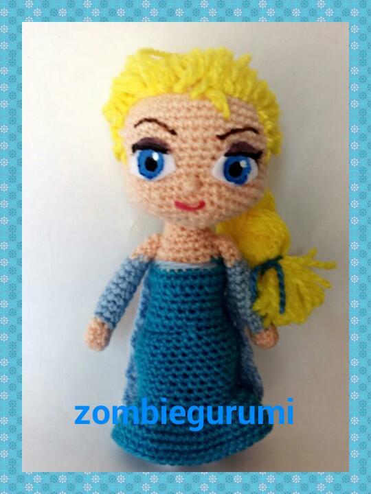 Amigurumi Elsa : Amigurumis: Anna y Elsa de Frozen.. amigurumi