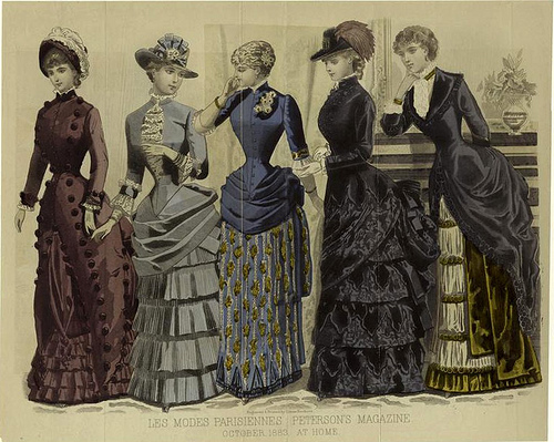 Vestimenta De La Mujer Del Siglo 19