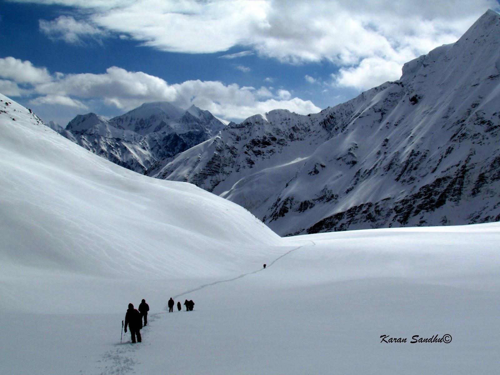 Baspa Glacier traverse , Lamkhaga pass trek