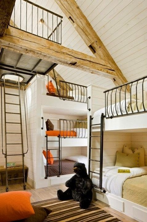 decoracao-quarto-infantil-camas-beliches