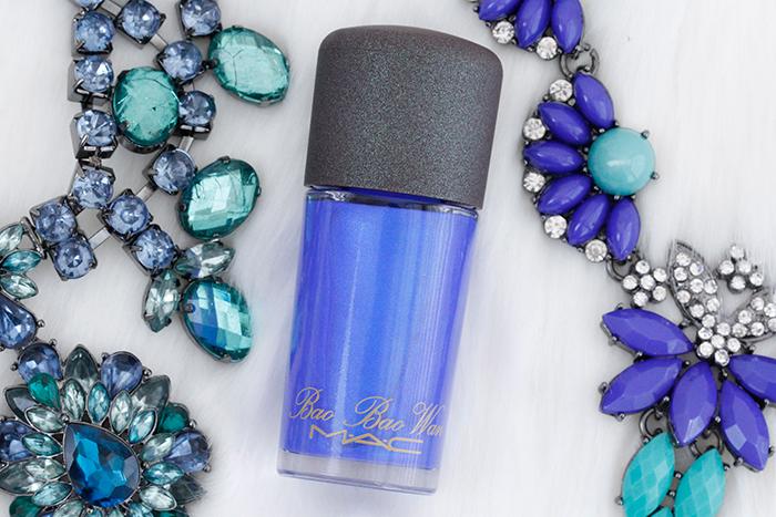 """MAC Boa Boa Wan Collection: """"Kashmir Blue"""" Nail Polish"""