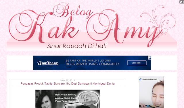 Portfolio, tempahan edit/design/customize blog, tempahan edit blog murah, Blog Bingkisan Hati, maisarahsidi.com