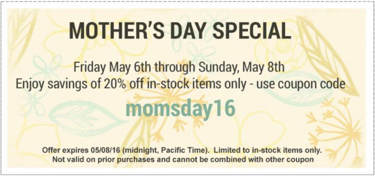 Ellen Hutson Mother's Day Sale