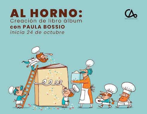 AL HORNO: creación de libro álbum // 24 de Oct