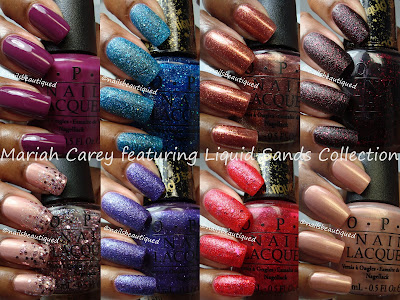 OPI Mariah Carey Collection, featuring Liquid Sands