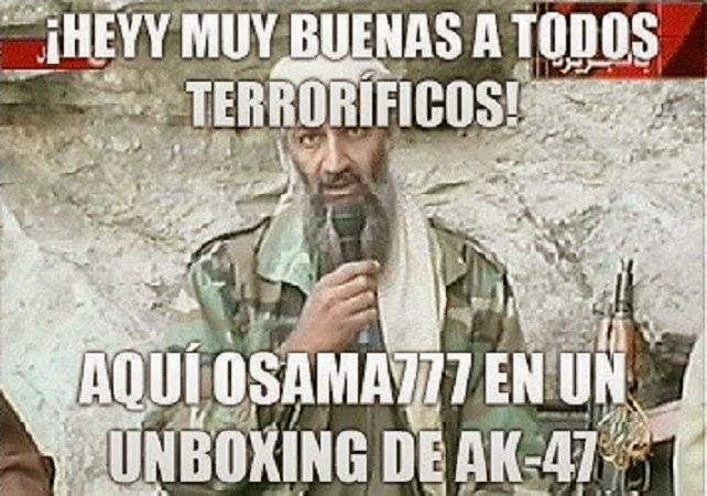 Aquí Osama777
