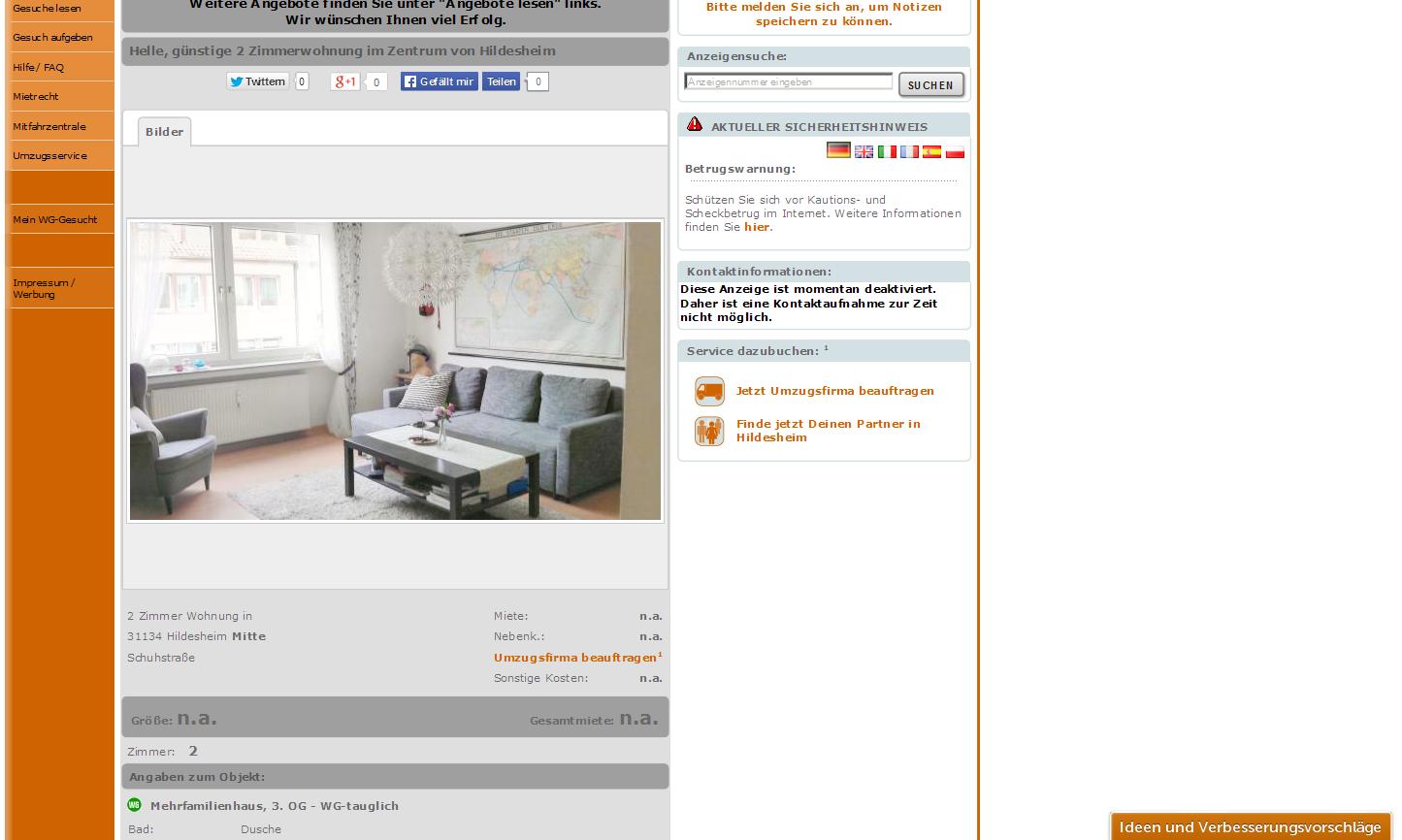 Gunstige  Zimmer Wohnung Stuttgart