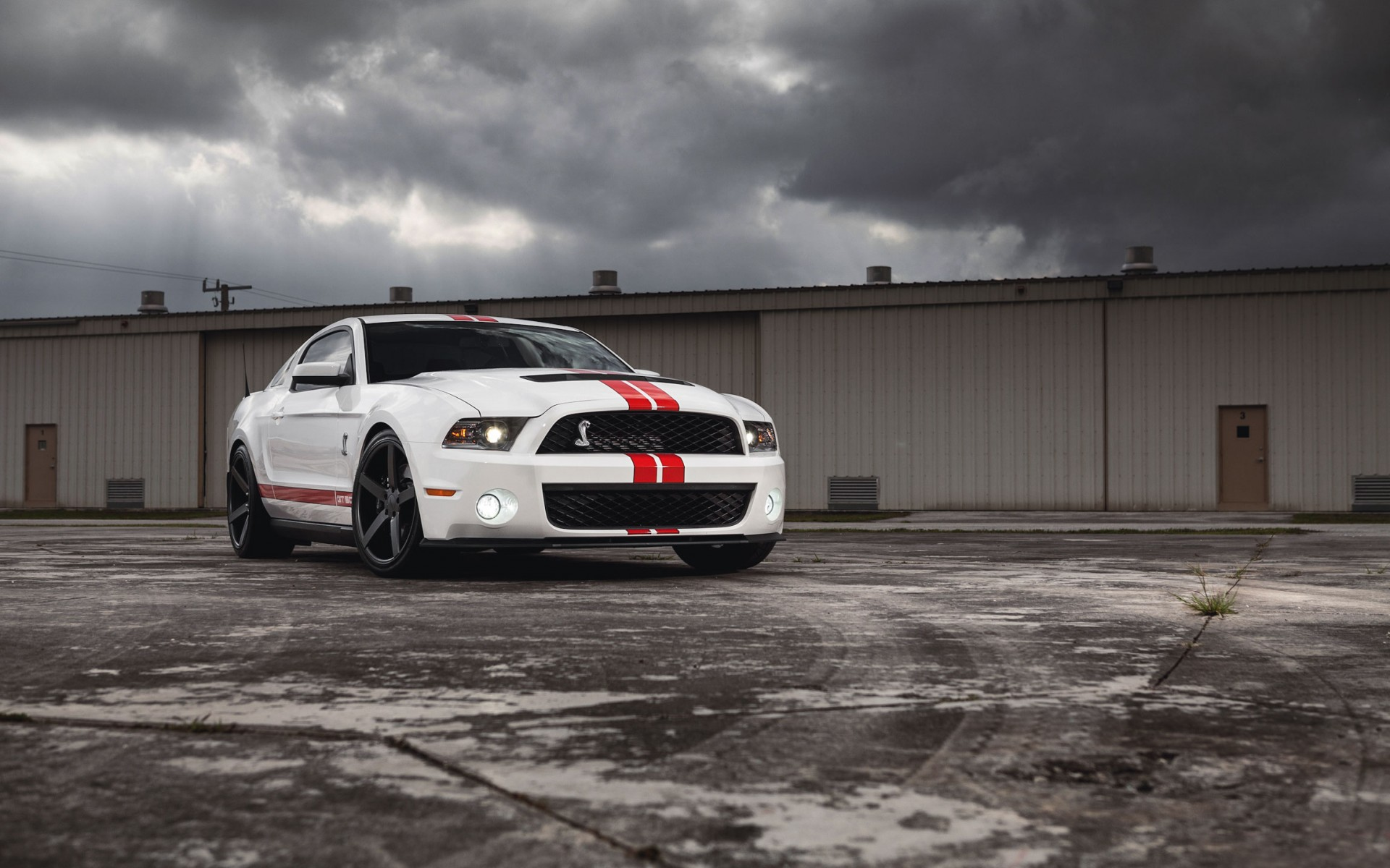 Ford mustang gt500 shelby muscle car wallpapers hd