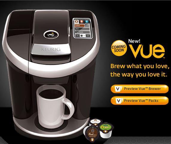 Keurig Coffee Maker Definition : The Early Adopter: Keurig Vue