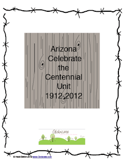 Arizona, cactuses, cowboys, centennial, resources, Globicate, Heidi Befort