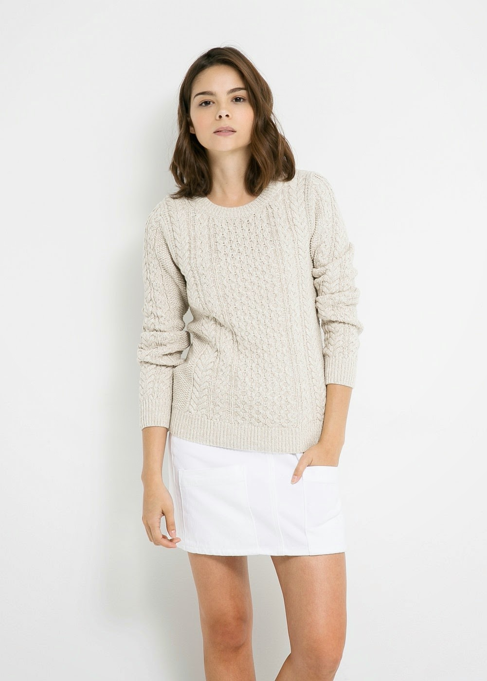 great winter sweater for anyone with psoriasis
