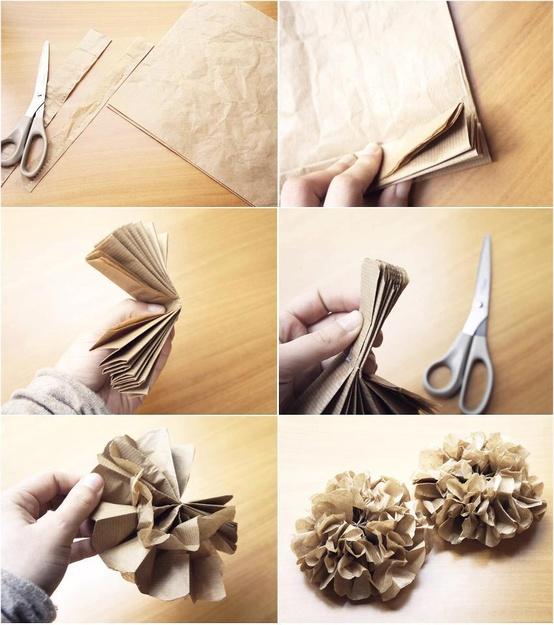solo Sitio!: ¿Cómo Hacer Pompones de Papel para decorar la Navidad
