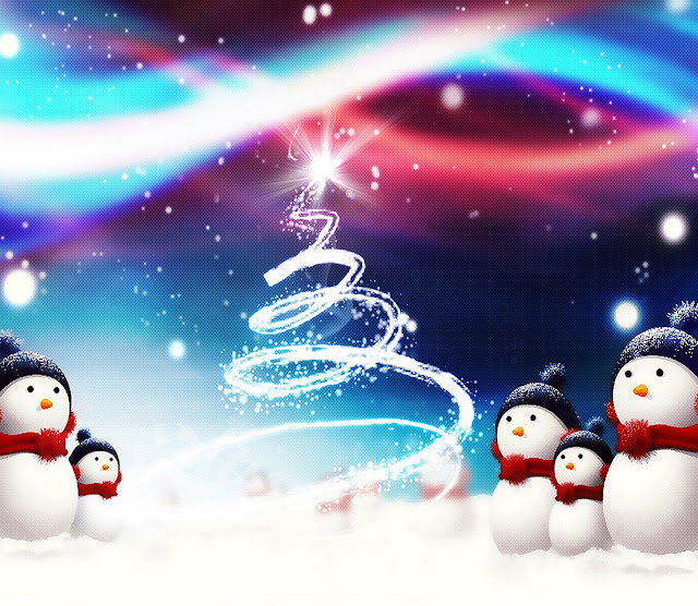christmas facebook cover card Photo