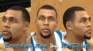 NBA 2K13 Brandon Roy Cyber Face Mods