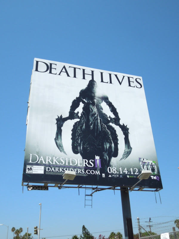 Death Lives Darksiders II billboard