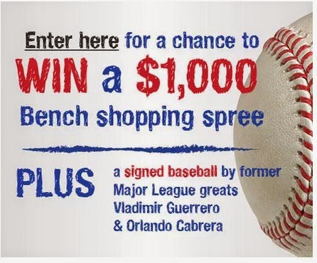 Bench $1000 Shopping Spree Contest