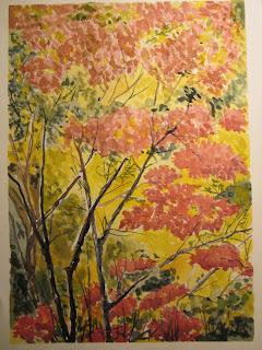 Ciam Lezione 4 Colori Caldi E Freddi Paesaggio Autunnale