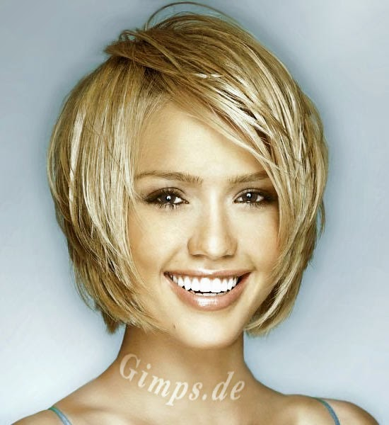 Peinados De Novia Peinados Pelo Corto Liso Mujer - Peinados-pelo-corto-liso