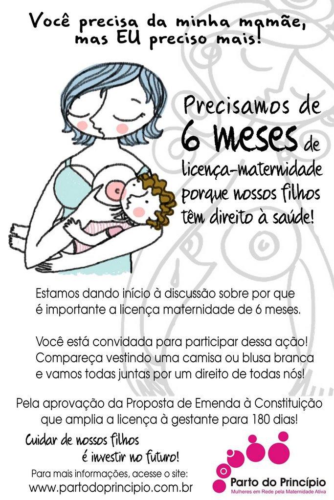 A Doula Nutri Licença Maternidade De 6 Meses Já