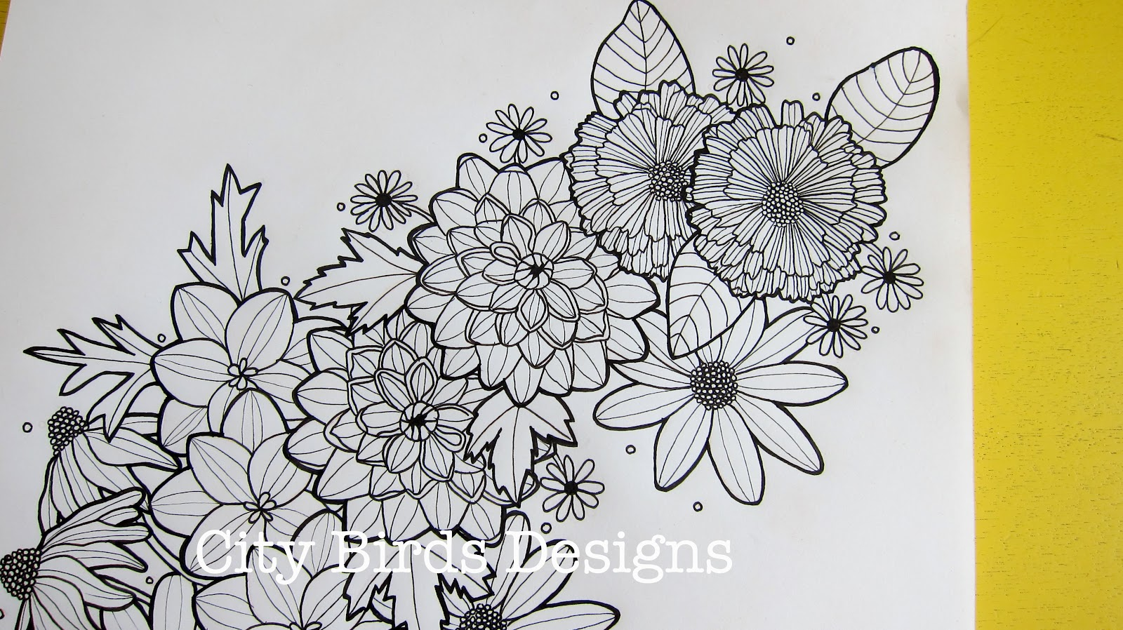 Flower Sleeve Tattoo Sketches