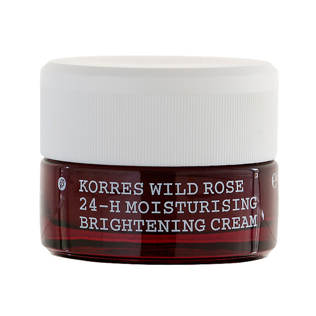 korres rose moisturiser, 24 hour skin moisturiser, korres rose review,