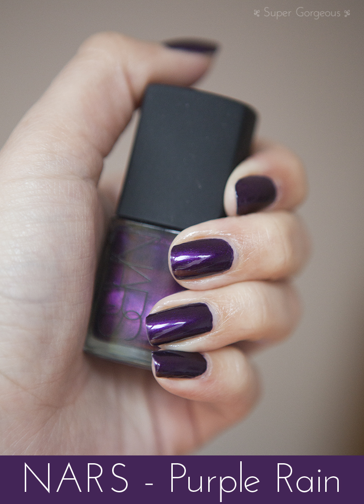 Nails of the Day - NARS Purple Rain | Super Gorgeous