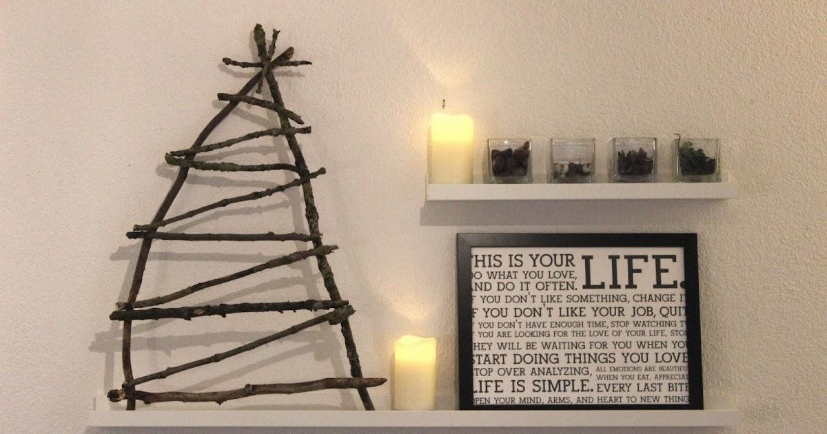 tina frisch diy ruck zuck oder ich bastel mir einen weihnachtsbaum aus dem wald. Black Bedroom Furniture Sets. Home Design Ideas