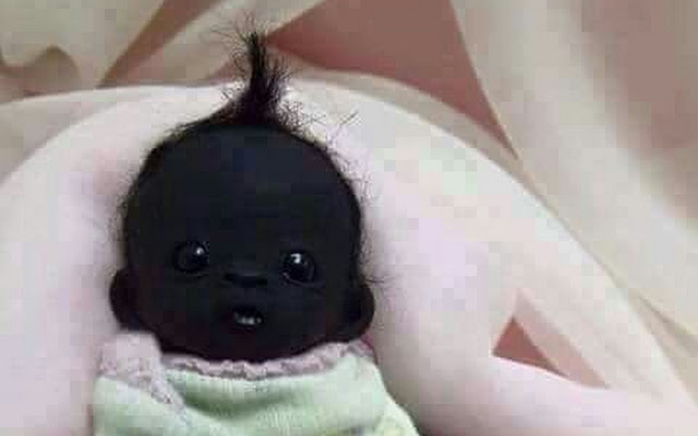 The Darkest Baby in the World born in South Africa