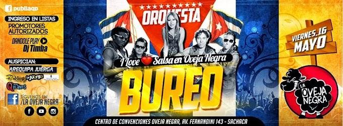 Orquesta Internacional Bureo - I love Salsa - 16 de mayo