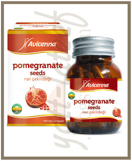 Kapsul Serbuk Biji Delima Asli Natural Pomegranate Seed Powder Produk Super Hebat Utk Wanita