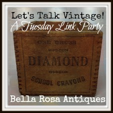 Featured at Bella Rosa Antiques