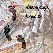Decoupage krok 3