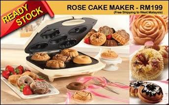 ROSE CAKE MAKER