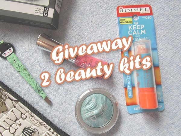 Giveaway | 2 beauty kits