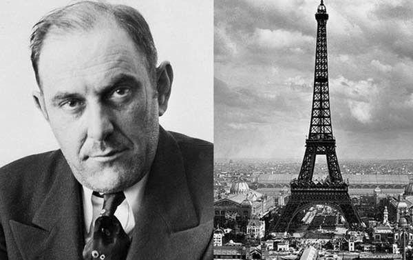 قصة فيكتور لوستيج , الرجل الذي باع برج إيفل مرتين لنفس العائلة