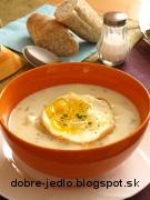 Biela zemiaková polievka - recept