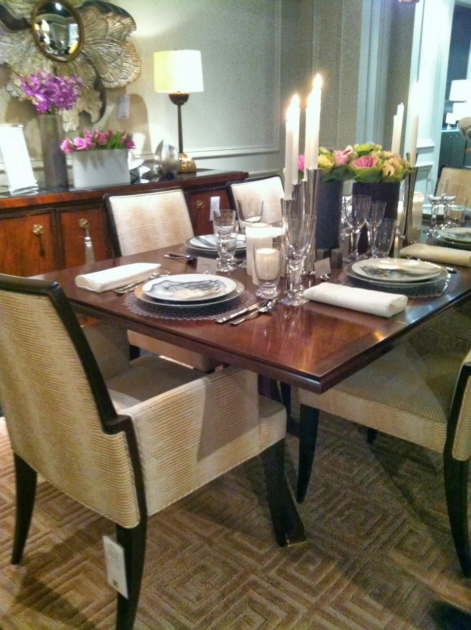 Michael Hampton at Baker furniture \'tabletop\'   Harrison Architect ...
