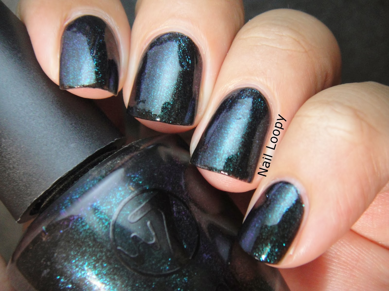 Metallic Black Nail Polish – Best Nail 2018