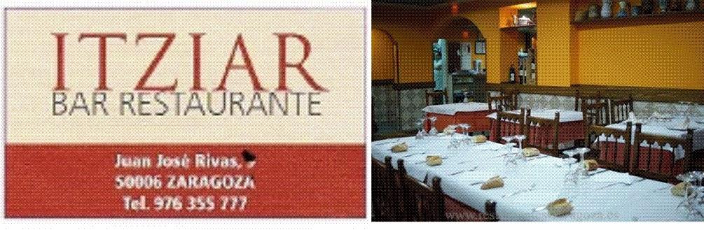 restaurante ITZIAR